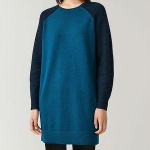 COS Raglan-Sleeved Wool-Alpaca Dress